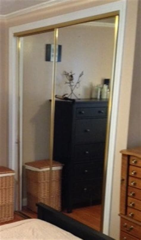 refinishing gold mirrored closet doors frugalwoods