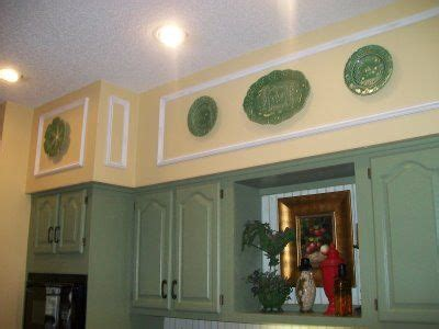 Decorating Ideas For Kitchen Soffits by Before And After Unsightly Kitchen Soffits Kitchen