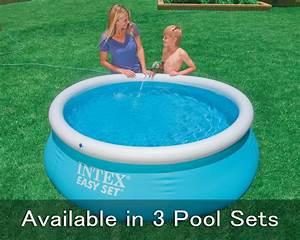 Easy Set Pools : intex 6 x 20 easy set pool with optional easy set foot pool pump and accessories ~ Eleganceandgraceweddings.com Haus und Dekorationen