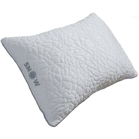 Snow Pillows by Protect A Bed 174 Snow Cooling Pillow With Firm Shredded