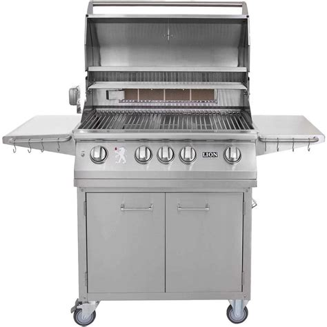 stainless steel gas grills 32 inch stainless steel propane gas grill on cart