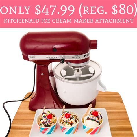 regular  kitchenaid ice cream maker