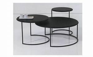 Table Basse Ronde Gigogne : une table gigogne vous offre du confort et de l 39 esth tisme tables ~ Teatrodelosmanantiales.com Idées de Décoration