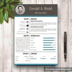curriculum vitae format template download creative cv template cover letter word gerald a redd