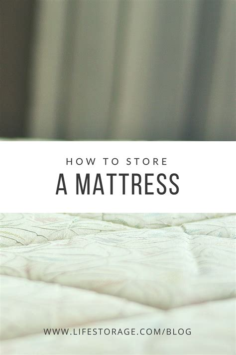 Storing A Mattress by How To Store A Mattress And How Not To Store One