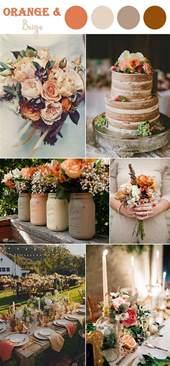 the 10 fall wedding color combos to in 2017 elegantweddinginvites - October Wedding Colors