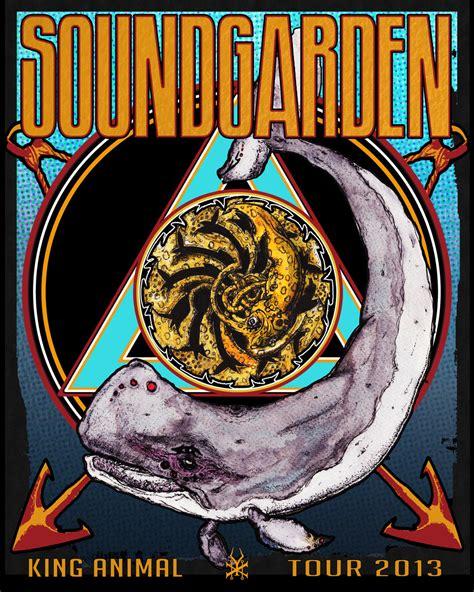 Soundgarden King Animal Wallpaper - soundgarden king animal tour poster by cerebralbohemian on