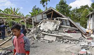 Indonesia Earthquake Today Map  Where Is Lombok  Huge 6 4