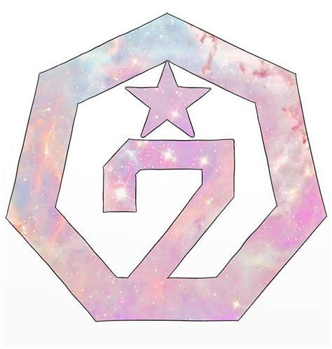 throw pillows got7 logo stickers redbubble