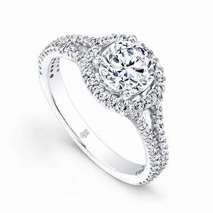 jewelry to go beverley k halo split shank bridal ring With what kind of wedding band goes with a halo ring