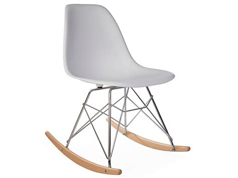 eames rocking chair rsr white