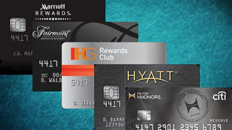 top hotel credit card programs hotel miles