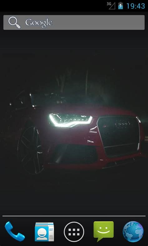 live for android audi rs6 live wallpapers free app android freeware