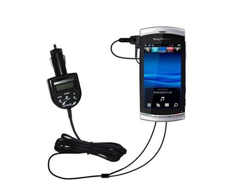 Fm Transmitter & Car Charger Compatible With The Sony