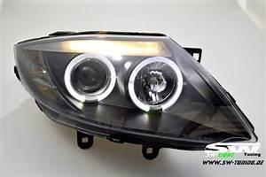 Bmw Z4 E85 Scheinwerfer : angel eye headlights bmw z4 e85 02 08 2 led halo rims ~ Jslefanu.com Haus und Dekorationen
