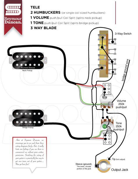 Humbucker Push Pull Tone Wiring Diagram
