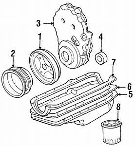 Gmc Yukon Engine Timing Cover  Liter  Cylinder  Models