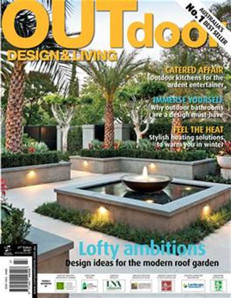 outdoor living magazines outdoor design living magazine subscription isubscribe