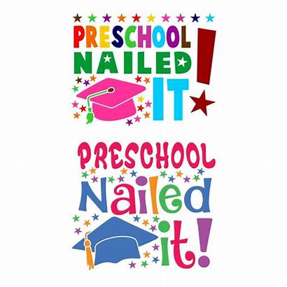 Graduation Preschool Nailed Cuttable Svg Designs Straight