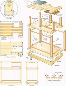 Build a rolling bar – Canadian Home Workshop