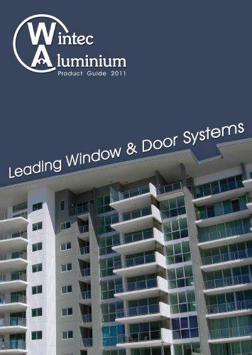 wintec aluminium wintec aluminium windows doors australia pty   catalogs