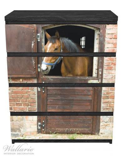 moebelfolie pferd im stall
