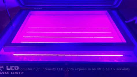 led uv light pro series screen printing exposure unit