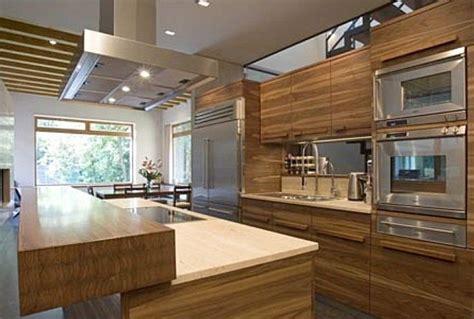 moderna cuisine modernas cocinas de madera kitchen design luxury homes