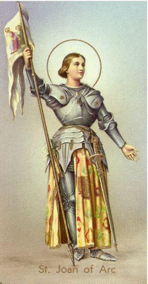 Saint Joan Of Arc Quotes Quotesgram