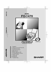 Fo-1470 Manuals