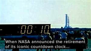 #YouAsked: NASA's retired countdown clock to go on display ...