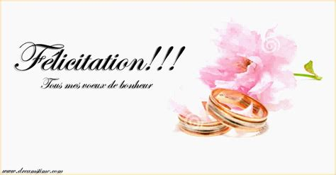 carte de voeux pour mariage felicitations et voeux de bonheur pour mariage lovely