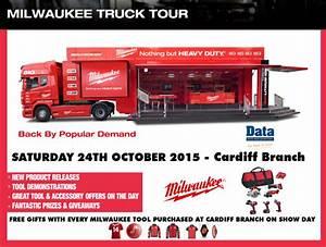 The Milwaukee Power Tools UK and Ireland Big Red Truck