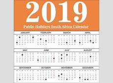 Download Public Holiday South Africa Calendar 2019