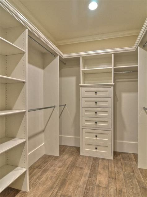 small walk in closet for