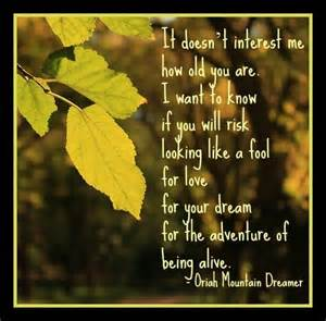 The Invitation by Oriah Mountain Dreamer Poem