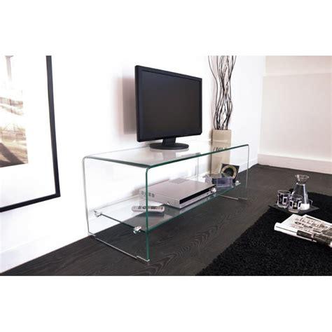 meuble tele en verre meuble tv tout en verre