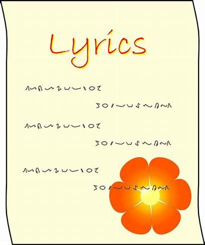 Clipart Lyrics Lyric Clip Svg Vector Poem
