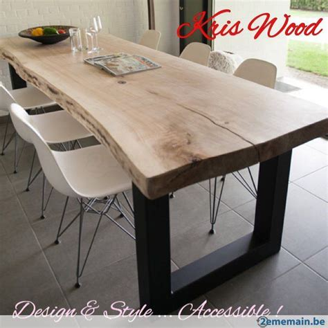 Plateau Bois Pour Table Plateau Chene Blanc Sec 300cm Tres Massif Pour Table 67mm Table Chene Blanc