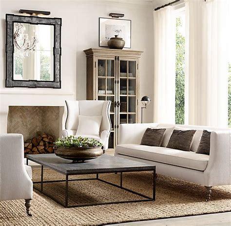 Restoration Hardware Living Room Pillows by 18th C Salon Mirror En 2019 Decor Restoration