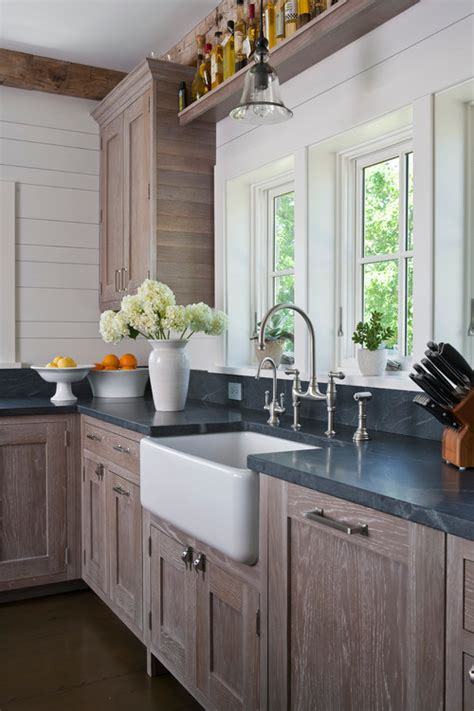 soapstone kitchen  white farmhouse sinks seattle