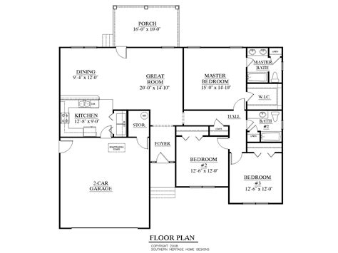 what is a floor plan southern heritage home designs house plan 1558 b the