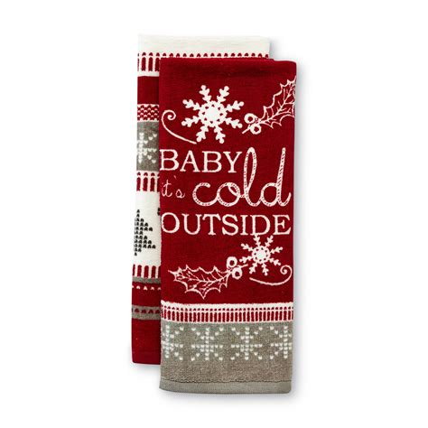 essential home  pack christmas kitchen towels baby