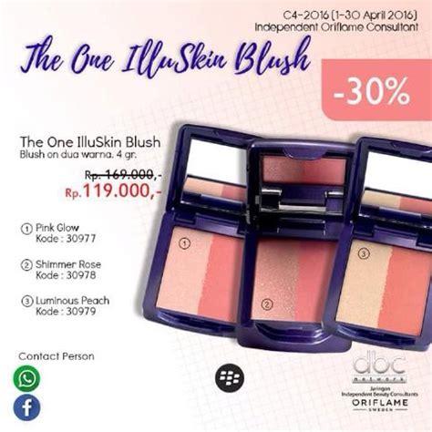 jual beli the one illuskin blush oriflame baru jual