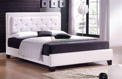 Fashionable Cheap Platform Beds With Headboard High Velvet