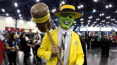 Jim Carrey The Mask Costume Comicpalooza 2015