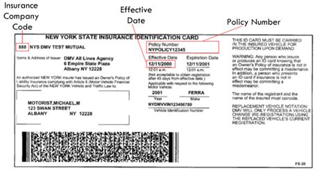 auto insurance card how to find your policy number and company cheapest auto insurance