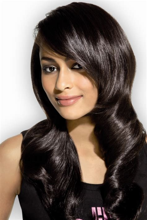 Shiny Brown Hair Dye by Shiny Black Hair Hair Colors Ideas