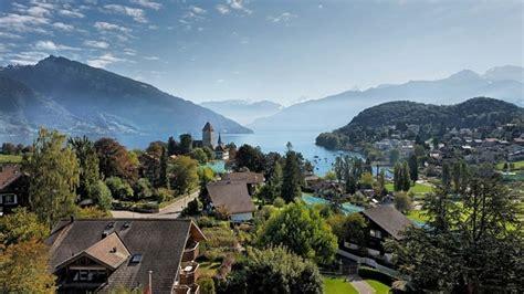 Hotel Eden Spiez Spiez Switzerland Tourism