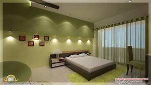 Beautiful contemporary home designs kerala home design for Best bedroom interior design for girls